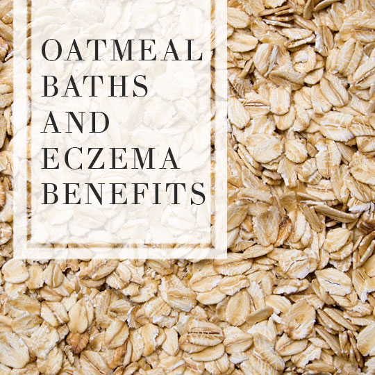Oatmeal bath eczema benefits