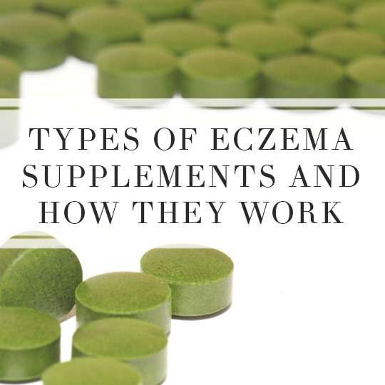 Types of Eczema Supplements