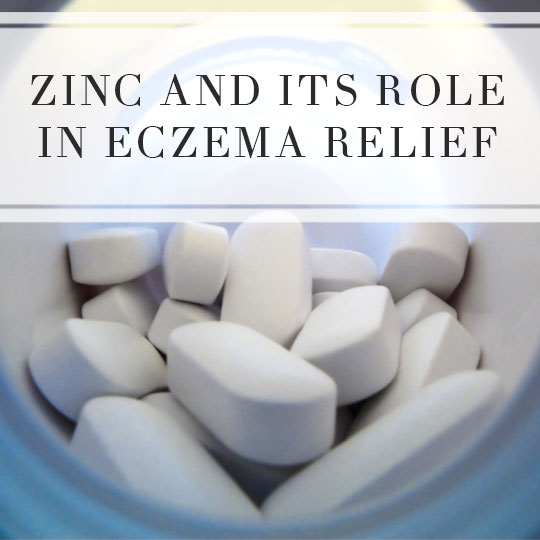 Zinc and its role in eczema relief