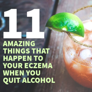 Eczema Alcohol