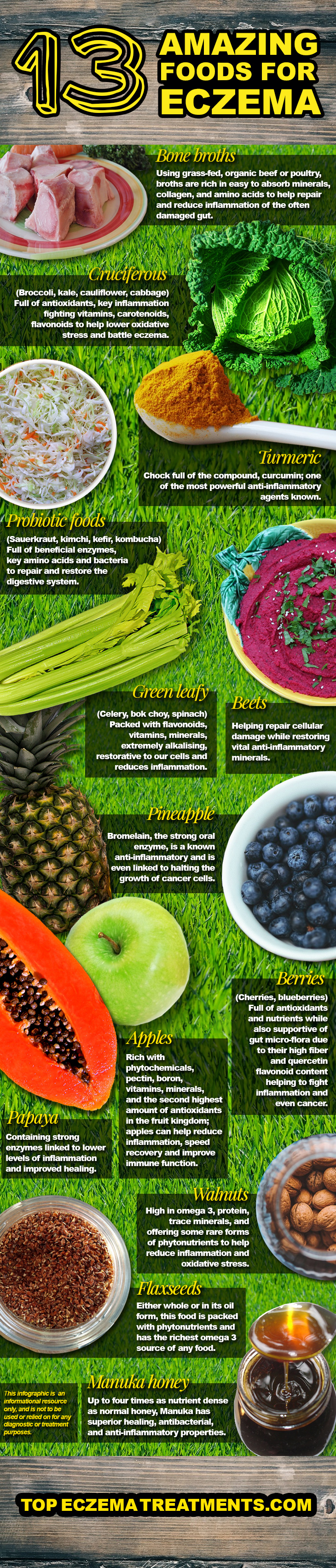 13 Amazing Foods For Eczema